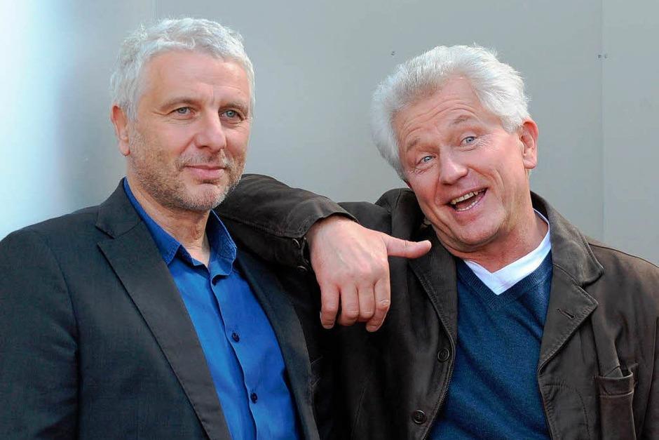 MÜNCHEN seit 1991 (BR): Ivo Batic (Miroslav Nemec) und Franz Leitmayr (Udo Wachtveitl) [10 Punkte: Top.  1 Punkt: Flop] (Foto: dpa)