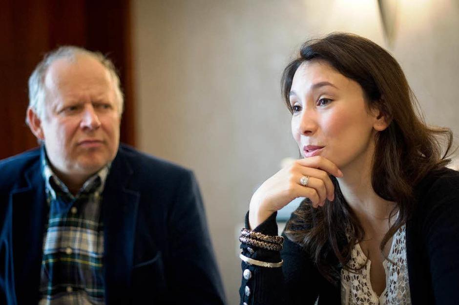 KIEL seit 2003 (NDR): Klaus Borowski (Axel Milberg) und Sarah Brandt (Sibel Kekilli) [10 Punkte: Top.  1 Punkt: Flop] (Foto: dpa)