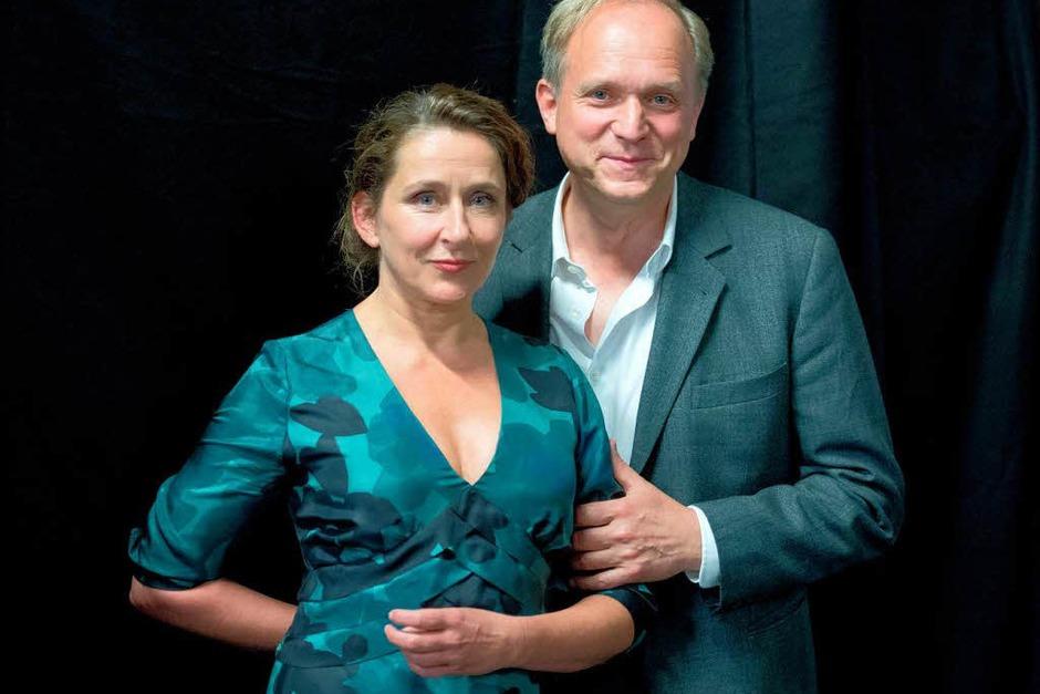 WIESBADEN/HESSEN seit 2010 (HR): Felix Murot (Ulrich Tukur) und Magda Wächter (Barbara Philipp) [10 Punkte: Top.  1 Punkt: Flop] (Foto: Boris Roessler)