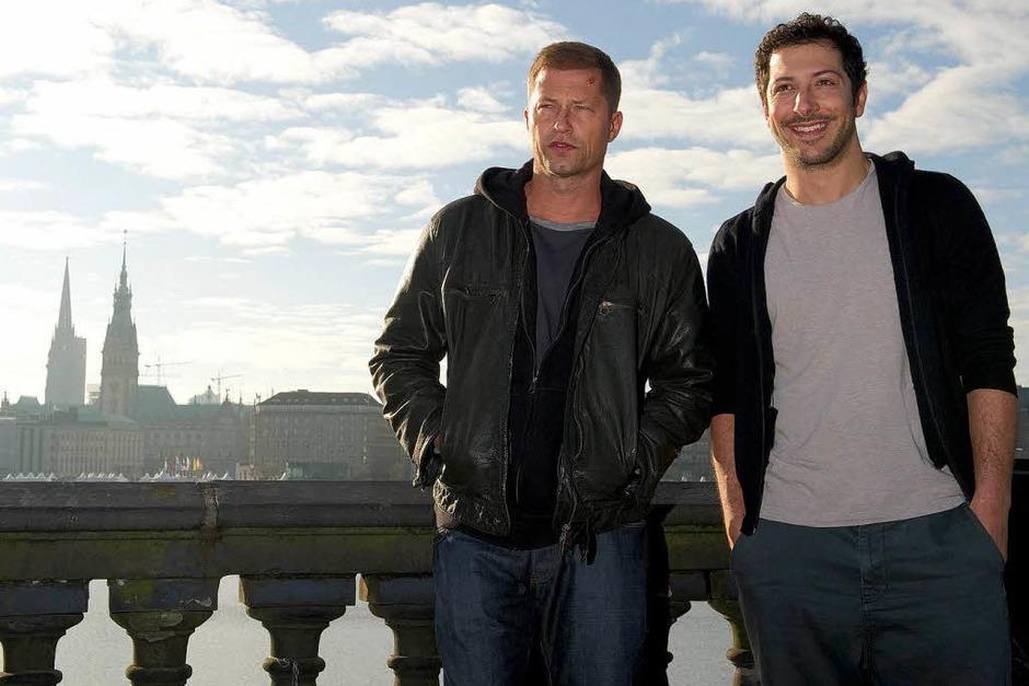 HAMBURG seit 2013 (NDR): Nick Tschiller (Til Schweiger) und Yalcin Gümer (Fahri Yardim) [10 Punkte: Top.  1 Punkt: Flop] (Foto: Axel Heimken)