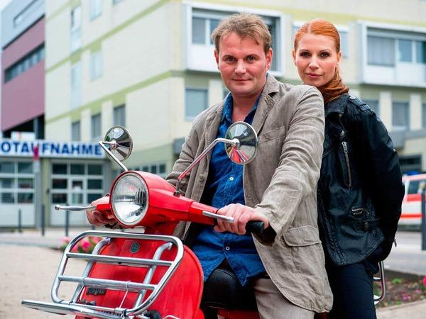 SAARBRÜCKEN seit 2013 (SR): Jens Stellbrink (Devid Striesow) und Lisa Marx (Elisabeth Brück) [10 Punkte: Top.  1 Punkt: Flop]