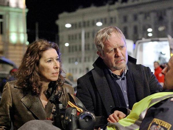 WIEN seit 1999 (ORF, Österreich): Moritz Eisner (Harald Krassnitzer) und Bibi Fellner (Adele Neuhauser) [10 Punkte: Top.  1 Punkt: Flop]