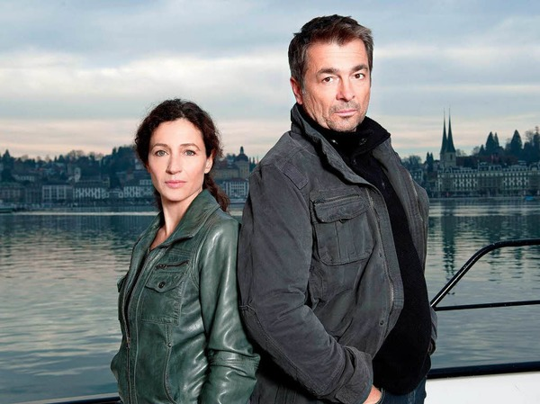 LUZERN seit 2011 (SRF, Schweiz): Reto Flückiger (Stefan Gubser) und Liz Ritschard (Delia Mayer) [10 Punkte: Top.  1 Punkt: Flop]