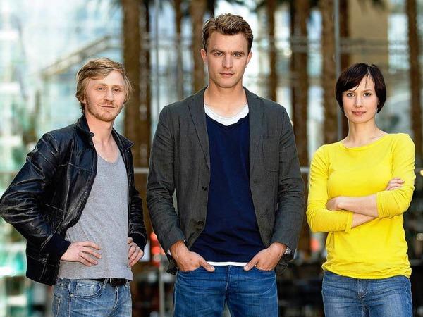 ERFURT seit 2013 (MDR): Henry Funck (Friedrich Mücke) und Maik Schaffert (Benjamin Kramme) sowie Johanna Grewel (Alina Levshin) [10 Punkte: Top.  1 Punkt: Flop]