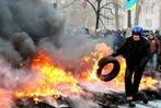 Fotos: Die Eskalation der Gewalt in Kiew