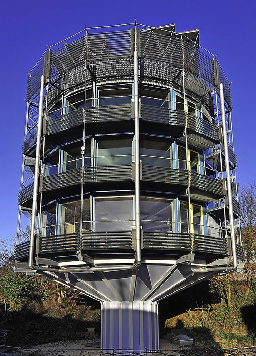 Das Drehsolarhaus Heliotrop   | Foto: Thomas Kunz