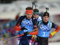 Vers�hnlicher Abschluss: Biathlon-Staffel gewinnt Silber