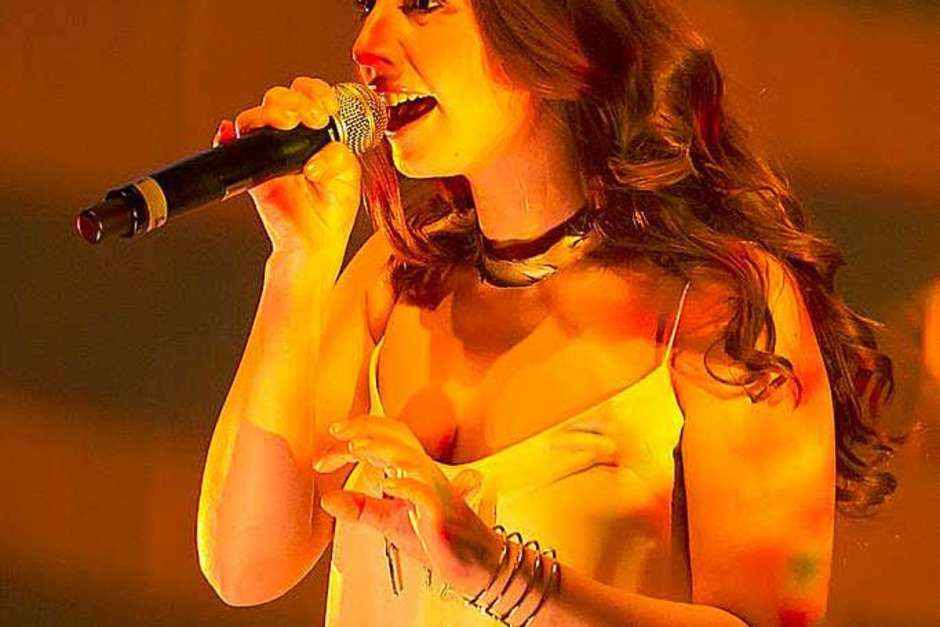 Sängerin Oonagh war ebenfalls mit dabei. (Foto: Daniel Fleig)