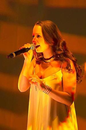 Sängerin Oonagh war ebenfalls mit dabei.