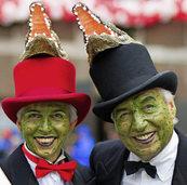 Der Karneval im Rheinland nimmt die Kanzlerin aufs Korn