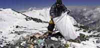 Müllabfuhr vom Everest