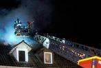 Fotos: Dachstuhlbrand in der Lahrer Kaiserstraße