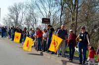 Menschenkette gegen Atomkraft – Fessenheim abschalten