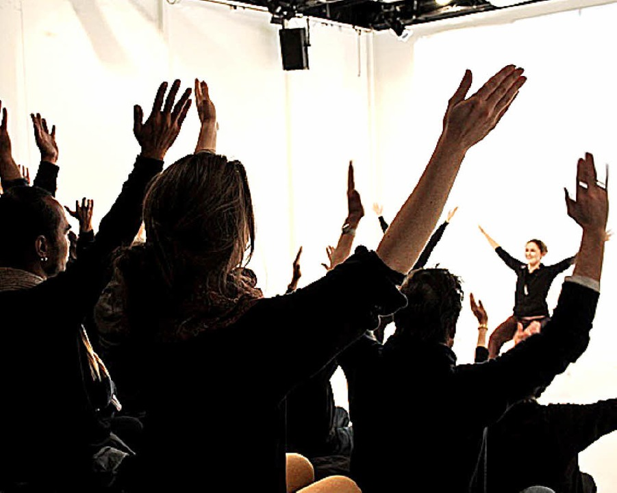 Brain Dance Uni Freiburg Theater Universität Parkinson Brain-Links Brain-Tools  | Foto: Alicja Schindler