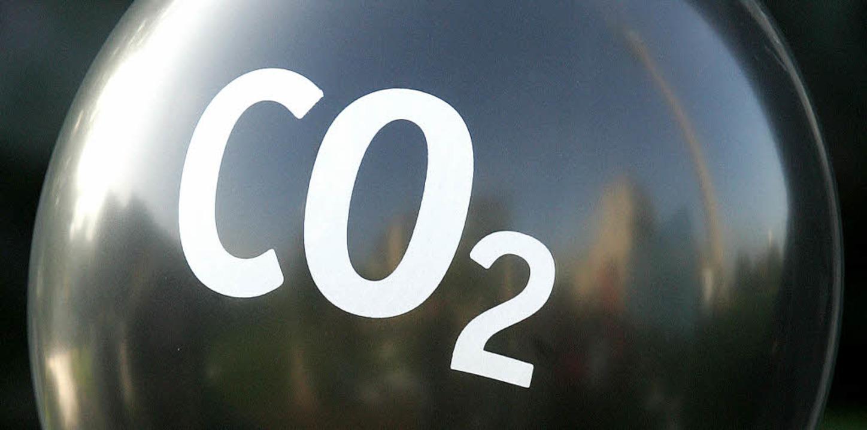 Gilt als Klimakiller: das Gas Kohlendioxid.    Foto: DPA