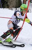 Alpine Skil�ufer von der Sonne verw�hnt