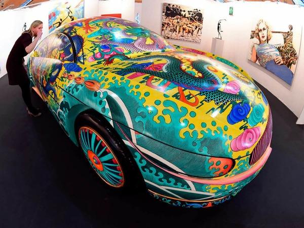 """Porcelain Car II"" des chinesischen Künstlers Ma Jun"