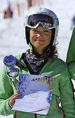 Leah B�hler auf Rang eins