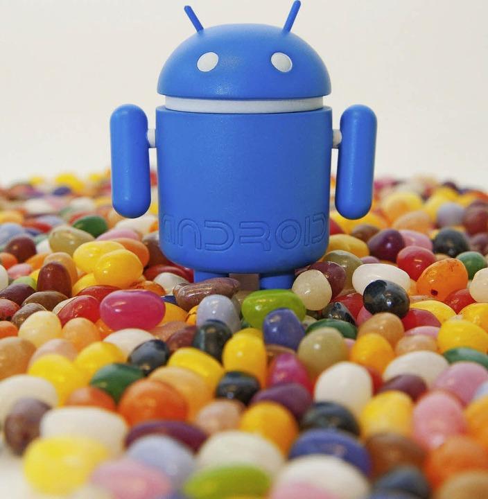 Viele, viele bunte Jelly Beans: Süße Android-Namen  | Foto: dpa