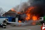Fotos: Großbrand in Titisee-Neustadt