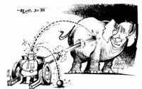 Die Sanktionsartillerie