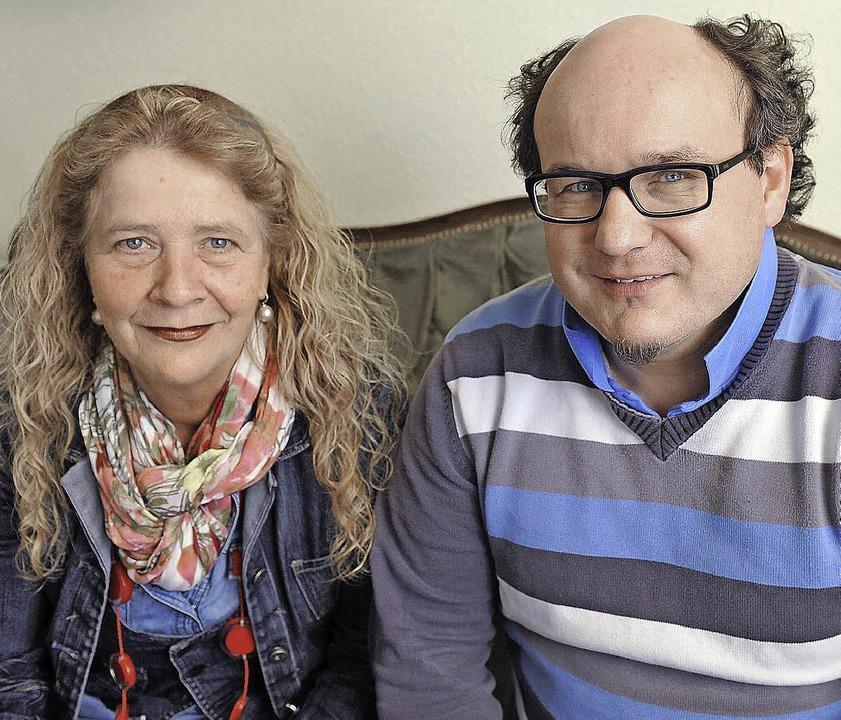 Silvia Fréchet und Volker Höhlein     Foto: Rita Eggstein