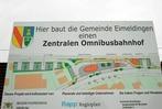 Wartehäuschen am Eimeldinger Bahnhofsplatz