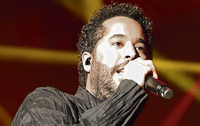 Adel Tawil in der Rothaus-Arena