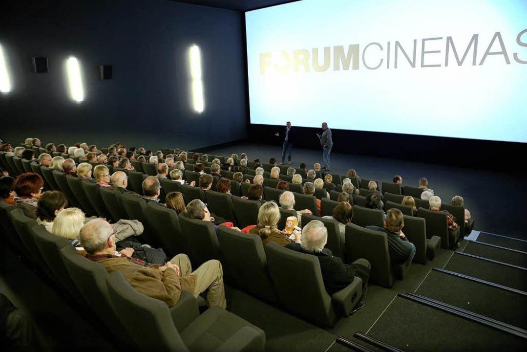 BZ-Dialog in einem der Kinosäle  | Foto: Christoph Breithaupt, Christoph Breithaupt