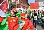 Fotos: Verdi-Kundgebung in Freiburg – Bsirske spricht auf Rathausplatz