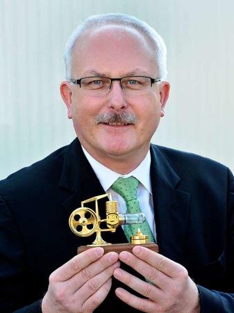 Jobmotor 2013, VascoMed in Binzen, Geschäftsführer Wolfgang Geistert