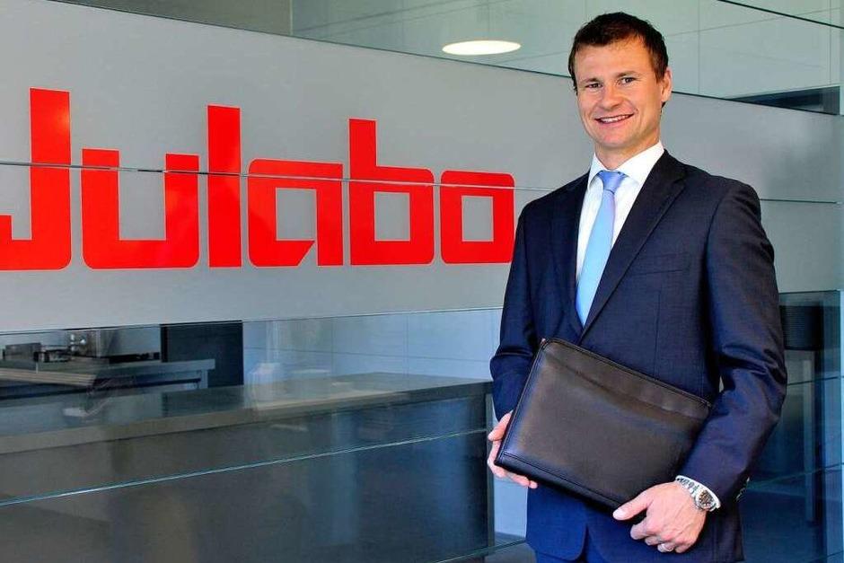 Jobmotor 2013, Julabo in Seelbach , Geschäftsführer Markus Juchheim (Foto: Thomas Kunz)