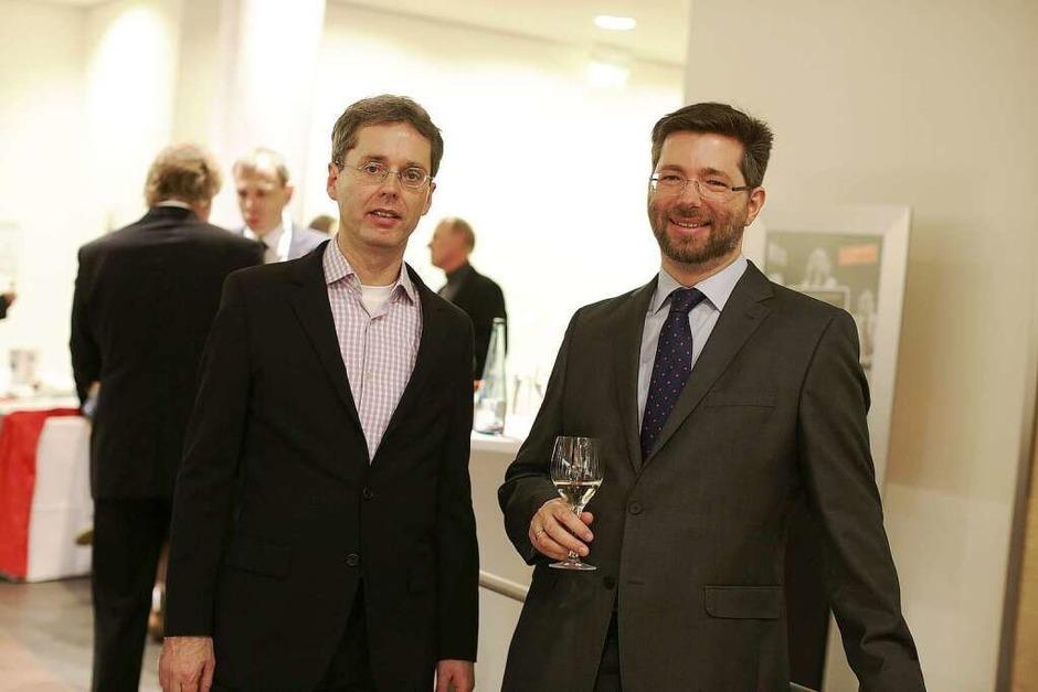 Treffpunkt für die Vertreter der südbadischen Wirtschaft: die Jobmotor-Party. (Foto: Christoph Breithaupt, Christoph Breithaupt)