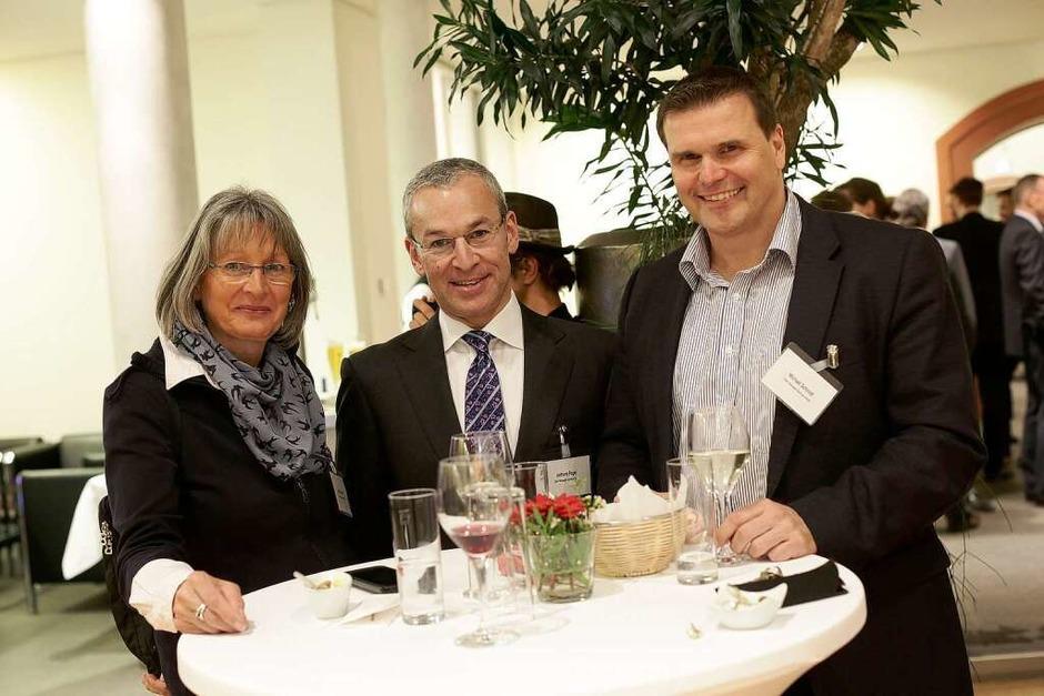 Treffpunkt für die Vertreterinnen und Vertreter der südbadischen Wirtschaft: die Jobmotor-Party. (Foto: Christoph Breithaupt, Christoph Breithaupt)
