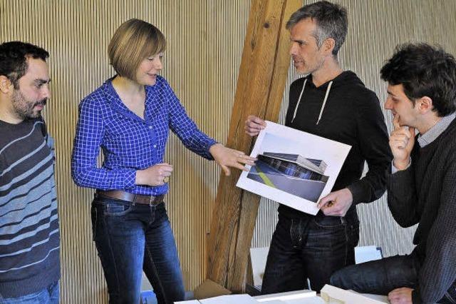 Mit einem internationalen Team Industriegebäude planen
