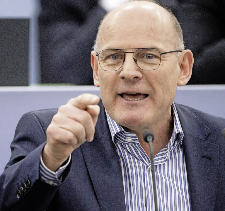 Müllheim und Auggen hätten sich mal fr...mmeln sollen, meint Minister Hermann.   | Foto: dpa
