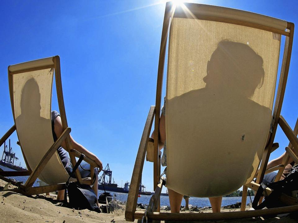 Sonnen, ausruhen und gut essen –...ten Urlaubsaktivitäten der Deutschen.   | Foto: DDP/DPA