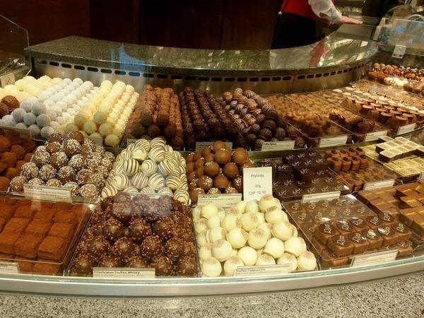 Leckereien aus Schokolade - typisch deutsch!