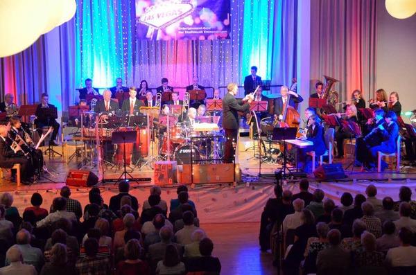 Die Entertainment Gala der Stadtmusik begeisterte die Besucher - völlig zu Recht.