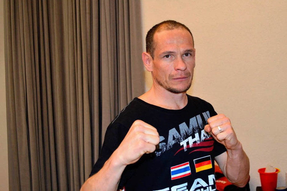 Veranstalter und selbst Matador im Ring, Uwe Tritschler (Foto: Sebastian Heilemann)