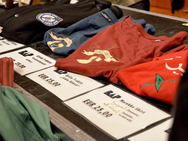 T-Shirts für alle - nicht ganz billig