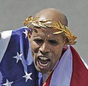 Patriotismus pur – in Boston beim Marathon