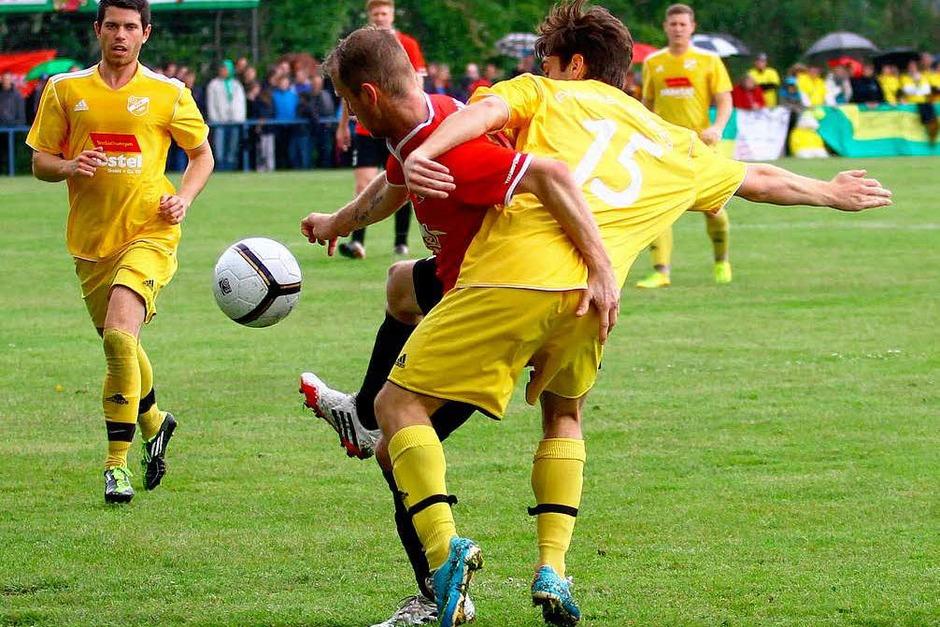 Der Pokaltriumph des SC Orschweier. (Foto: Peter Aukthun-Goermer)