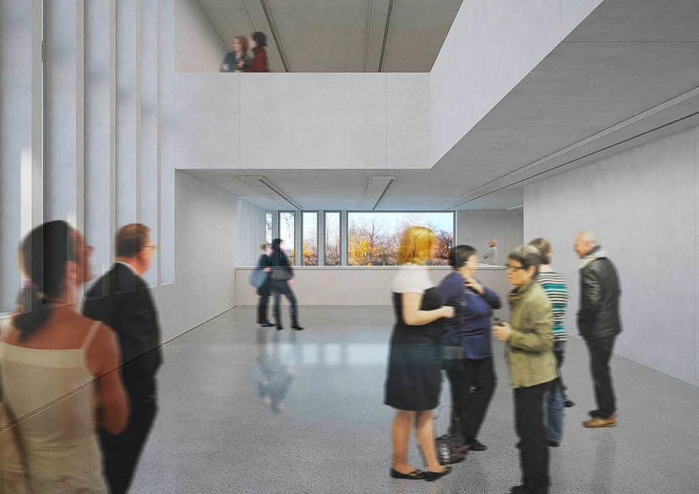 Simulation der Ausstellungsräume   | Foto: Georg Scheel Wetzel