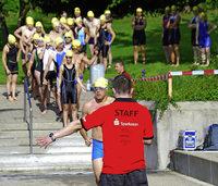 Weg frei f�r die Schwimmer