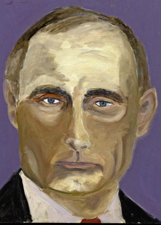 Wladimir Putin –  gemalt von Ex-US-Präsident George W. Bush  | Foto: Larry W. Smith