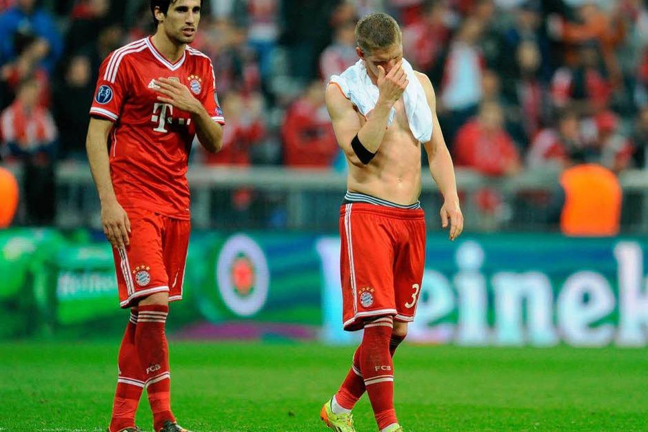 Real Madrid verteidigte gut - und war mit Kontern stets gefährlich. Bayern probierte viel, aber es gelang wenig. Ein enttäuschender Abend. (Foto: dpa)