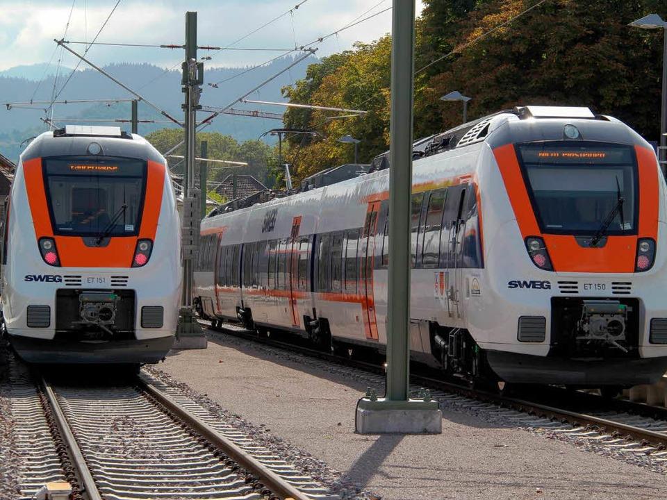 Züge, Gleis und Trasse passen auf der ..., sagt Markus Hecht von der TU Berlin.  | Foto: A. Huber