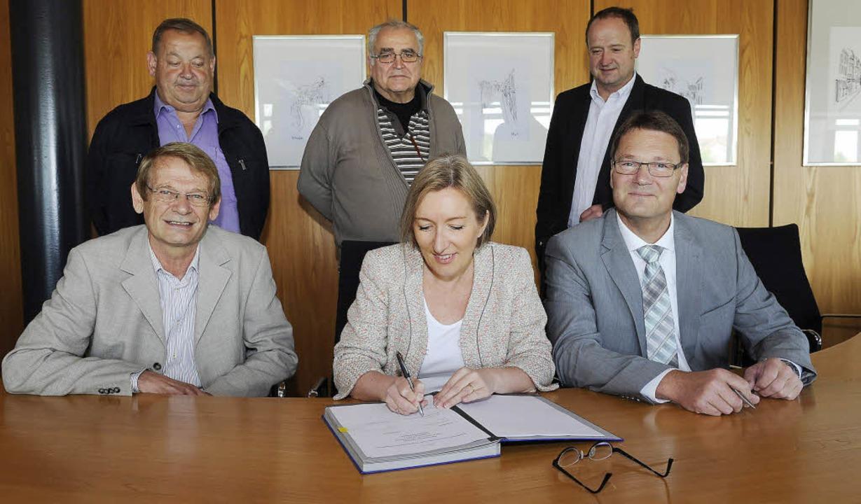 """Die """"Beste Lösung"""" wird nu...ld) im Auftrag der Bürgerinitiativen.     Foto: Volker Münch"""