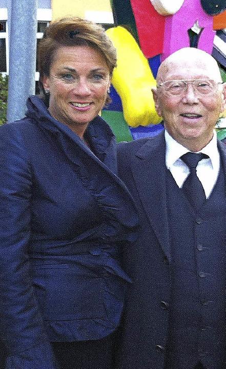 Fritz Stotmeister wurde  für soziales ...d der Deutschen Kinderkrebsnachsorge.   | Foto: PRIVAT